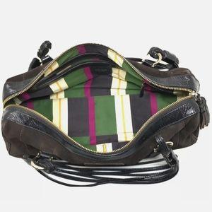 kate spade Bags - Kate Spade Handbag Brown Suede Barrel Satchel